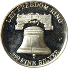 Let Freedom Ring International Trade Unit 1 oz Silver Round (.999 Pure)