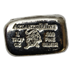 1 oz Leo Zodiac Silver Bar - Atlantis Mint (.999 Pure)