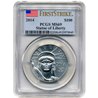 2014 1 oz American Platinum Eagle PCGS MS69 First Strike