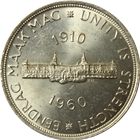 1960 South Africa 5 Shilling Silver Coin (.4546 oz of Silver)