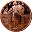 Standing Liberty Copper Round 1 AVDP Ounce (.999 Pure)