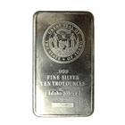 10 oz Idaho Silver Bar - Great Seal Of The State Of Idaho (.999 Pure)