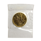 1999 1/2 oz Gold Canadian Maple Leaf 20th Anniversary Privy Mark - Sealed In Mint Plastic