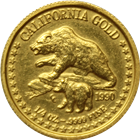 1990 1/4 oz California Gold Bear