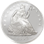 1 oz Seated Liberty Silver Round (.999 Pure)