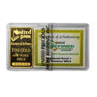 United Precious Metals Refining 1 oz Gold Bar (.9999 Pure)