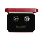 1995 Isle Of Man 2-Coin Bi Metal Proof Gold and Platinum Set (Angel and Noble) With Box and COA