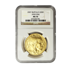 2007 American Gold Buffalo 1 oz NGC MS70