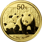 2010 China 1/10 oz Gold Panda