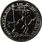 2014 1 oz Silver Britannia | Uncirculated
