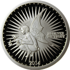 Silverbug 1 oz Proof Silver Round .999 Pure