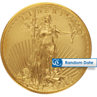 1 oz American Gold Eagle Coins (Dates of our ...