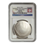 2014 $1 Baseball Hall Of Fame Silver NGC MS70 Early Release