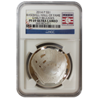 2014 $1 Baseball Hall Of Fame Proof Silver PF69 NGC Early Release