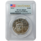 2014 1 oz American Platinum Eagle First Strike PCGS MS69