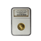 1977 Netherlands Antilles 100 Gulden Proof Gold NGC PF68