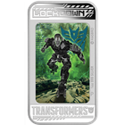 2014 Transformers Age Of Extinction - Lockdown 1 oz Proof Silver Lenticular Coin (W/ Box and COA)