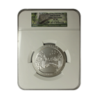 2011 5 oz Silver America The Beautiful - Chickasaw National Park NGC SP70 Early Release
