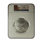 2012 5 oz Silver America The Beautiful - Chaco Culture NGC SP70