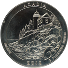 2012 5 oz Silver America The Beautiful - Acadia National Park (Abrasions)