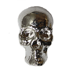 2 oz Silver Skull - Yeager's Poured Silver 3D Series