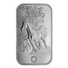 1 oz Rand Refinery Thoroughbred Horse Silver Bar - .999 Pure
