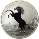 2013 Australia Stock Horse 1 oz Silver - With COA