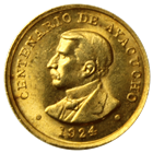 1924 Peru Battle of Ayacucho Gold Medal (.063 oz Gold)
