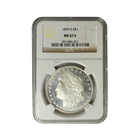 1879-S Morgan Silver Dollar NGC MS67* Star
