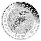 2015 1 Kilo Silver Kookaburra - Australia Perth Mint  (Brilliant Uncirculated)