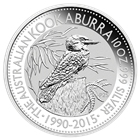 2015 10 oz Silver Kookaburra - Australia Perth Mint (Brilliant Uncirculated)