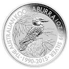 2015 1 oz Silver Kookaburra - Australia Perth Mint (Brilliant Uncirculated)