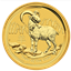 2015 1 oz Gold Goat - Australia (Brilliant Uncirculated)