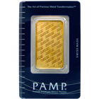 1 oz (Suisse Edition) Pamp Gold Bar - .9999 Pure with Assay Certificate