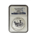 2015 Australia Perth Mint 1 oz Silver Goat Series II NGC MS70 Early Releases (300,000 mintage)