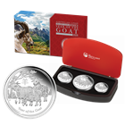 2015 Australia Perth Mint 3 Coin Proof Silver  Lunar Year of the Goat Set