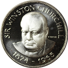 Sir Winston Churchill Proof Sterling Silver Coin (.786 oz of Silver)