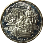 The Pioneer Women of America Proof Sterling Silver Coin (.786 oz of Silver)