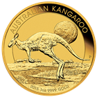 2015 1 oz Perth Mint Australia Gold Kangaroo (.9999 Fine)