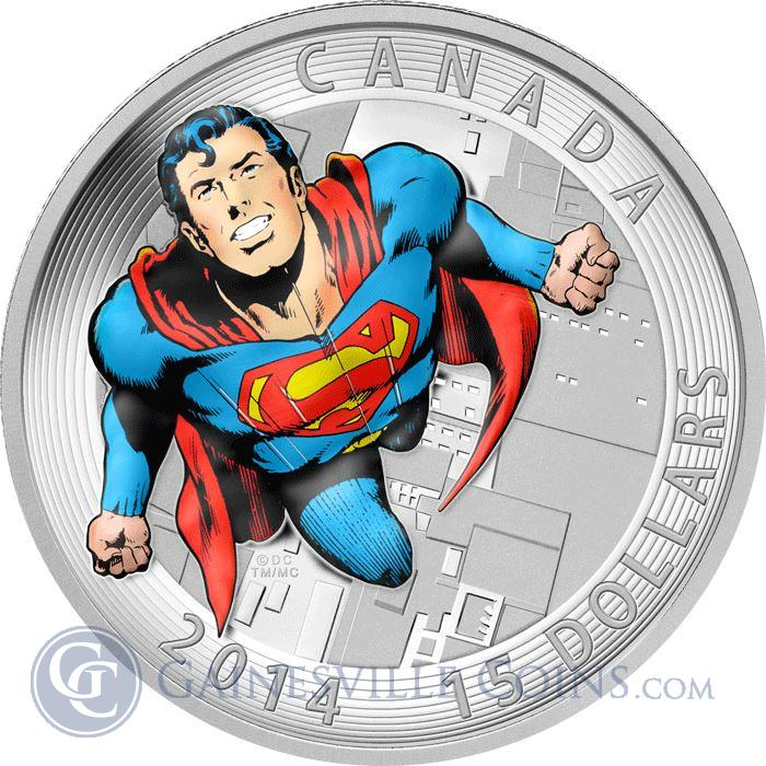 Image Showcase for 2014 Canada 3/4 oz Proof Silver Superman™ Action Comics #419 (Iconic Superman™ Comic Book Covers)