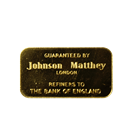 Johnson Mathey  20 Gram Swiss Bank Corporation Gold Bar (.9999 Pure)