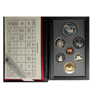 1992 Canada Double Dollar 7 Coin Proof Sterling Silver Set With Box and COA (.7487 ASW)