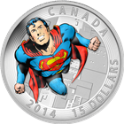 2014 Canada 3/4 oz Proof Silver Superman™ Action Comics #419 (Iconic Superman™ Comic Book Covers)