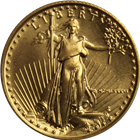 1986 1/4 oz Gold American Eagle Coin (Key Date)