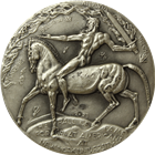 William Sherman High Relief Silver Medal 2.36 oz  (.999 Pure)
