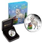 2015 Baby Goat 1/2 oz Proof Silver Christmas Coin - Australia