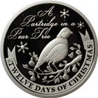 2011 PAMP Suisse Proof Silver $2 Twelve Days of Christmas - First Day (.80 oz ASW)