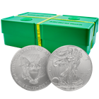 2015 1 oz American Silver Eagle Monster Box of 500 Coins - BU