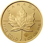 2015 1 oz Gold Canadian Maple Leaf Bullion Coin