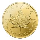 2015 1/2 oz Gold Canadian Maple Leaf Coin